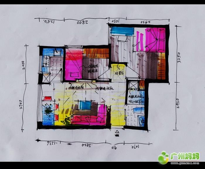 不到50方的小房子,这样设计可好 装修家居
