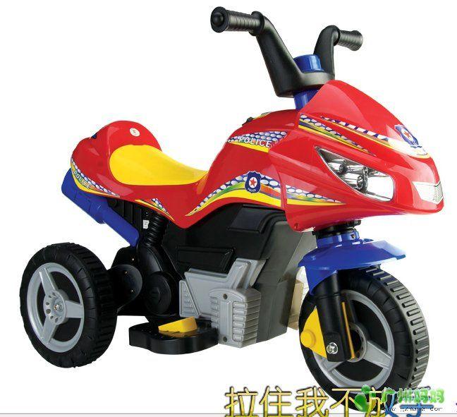 质量认证童星宝充电式儿童电动车 摩托车 超值价高清图片